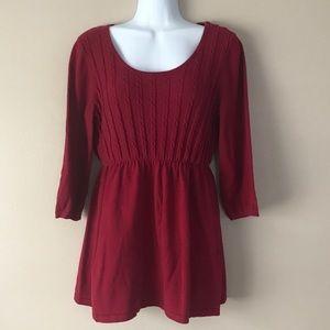 3/4 Maternity Sweater